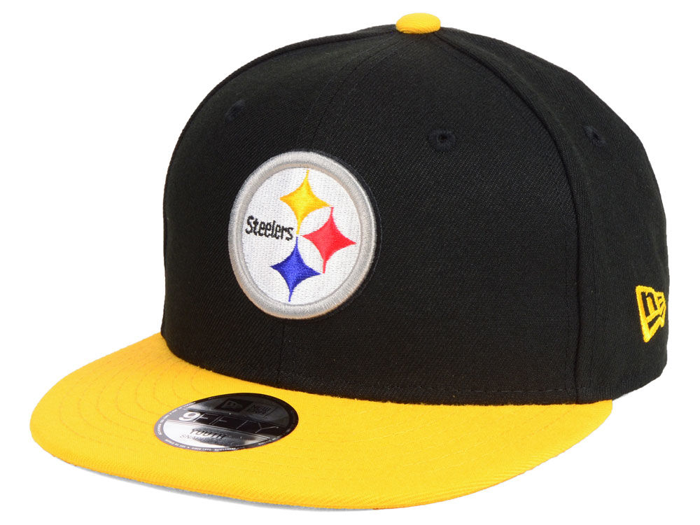 f63b400ae Pittsburgh Steelers New Era NFL Kids Two Tone 9FIFTY Snapback Cap ...