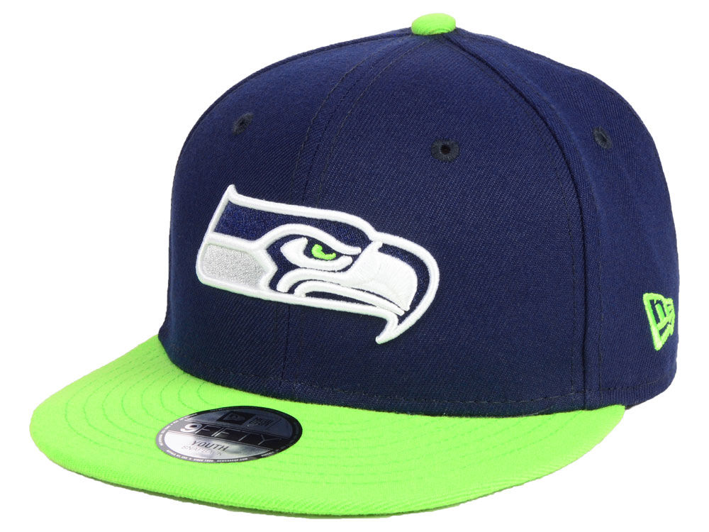 buy online a5d97 5795b ... canada seattle seahawks new era nfl kids two tone 9fifty snapback cap  33af4 b185d