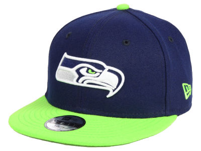 Seattle Seahawks New Era NFL Kids Two Tone 9FIFTY Snapback Cap dcb5ca5b0
