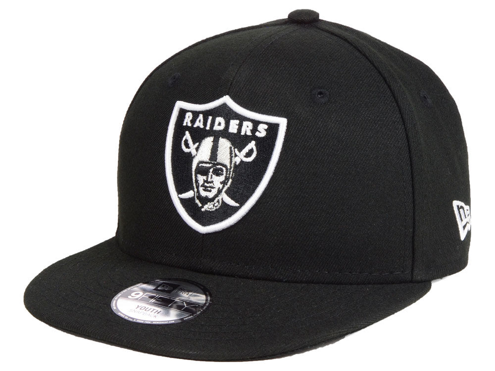 73cb1e83c93 Oakland Raiders New Era NFL Kids Two Tone 9FIFTY Snapback Cap