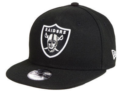 Oakland Raiders New Era NFL Kids Two Tone 9FIFTY Snapback Cap