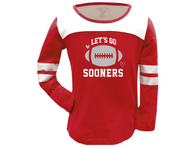 Oklahoma Sooners Garb NCAA Girls Paige Long Sleeve T-Shirt