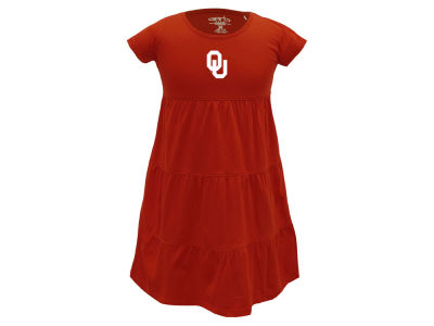 Oklahoma Sooners Garb NCAA Girls Jasmine Dress