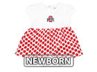Ohio State Buckeyes NCAA Girls Newborn Megan Polka Dot Dress Infant Apparel