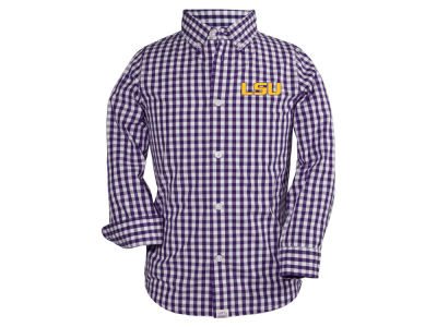 LSU Tigers Garb NCAA Toddler Logan Button Down Shirt