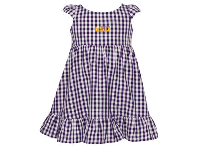 LSU Tigers Garb NCAA Toddler Gigi Ginham Dress