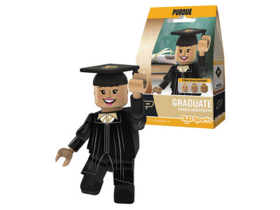 Purdue Boilermakers Female Graduate OYO Figure NCAA