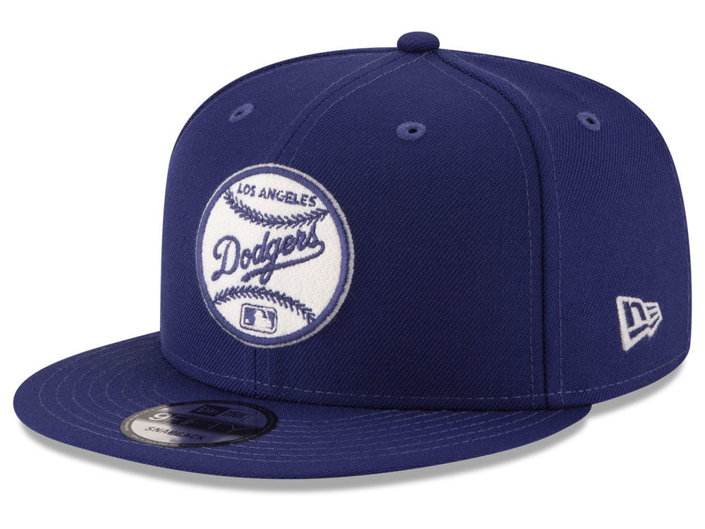 46413ed3d89 Los Angeles Dodgers New Era MLB Vintage Circle 9FIFTY Snapback Cap ...