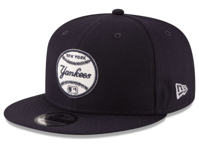 New York Yankees New Era MLB Vintage Circle 9FIFTY Snapback Cap
