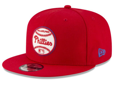 Philadelphia Phillies New Era MLB Vintage Circle 9FIFTY Snapback Cap