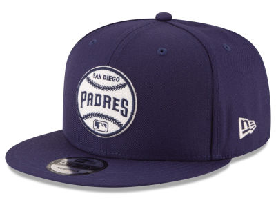 San Diego Padres New Era MLB Vintage Circle 9FIFTY Snapback Cap