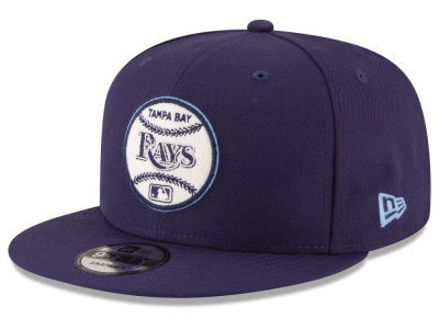 Tampa Bay Rays New Era MLB Vintage Circle 9FIFTY Snapback Cap