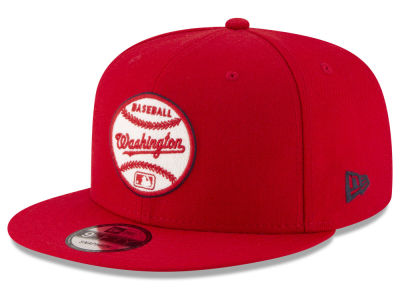 Washington Nationals New Era MLB Vintage Circle 9FIFTY Snapback Cap
