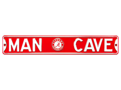Alabama Crimson Tide Authentic Street Signs Authentic Street Sign - Man Cave V