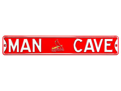 St. Louis Cardinals Authentic Street Signs Authentic Street Sign - Man Cave V
