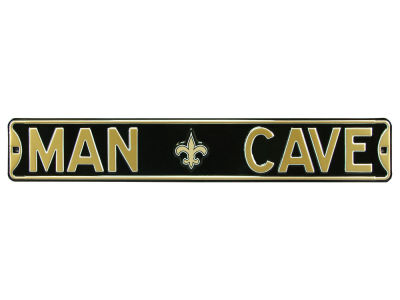 New Orleans Saints Authentic Street Signs Authentic Street Sign - Man Cave V
