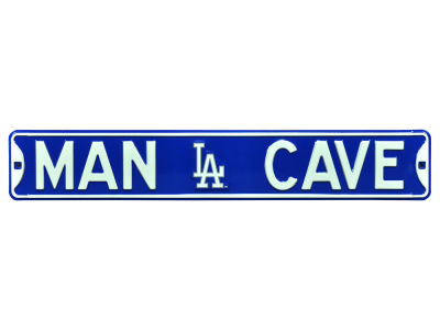Los Angeles Dodgers Authentic Street Signs Authentic Street Sign - Man Cave V