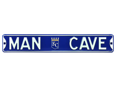 Kansas City Royals Authentic Street Signs Authentic Street Sign - Man Cave V