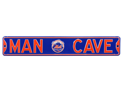 New York Mets Authentic Street Signs Authentic Street Sign - Man Cave V