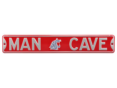 Washington State Cougars Authentic Street Signs Authentic Street Sign - Man Cave V