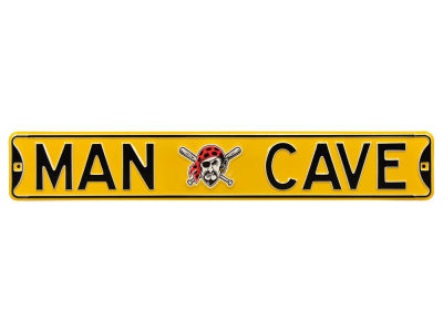 Pittsburgh Pirates Authentic Street Signs Authentic Street Sign - Man Cave V