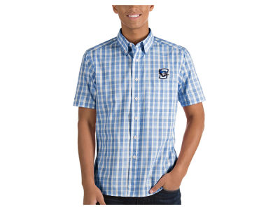 Creighton Blue Jays Antigua NCAA Men's Woven Crew Button Up