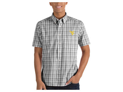 West Virginia Mountaineers Antigua NCAA Men's Woven Crew Button Up