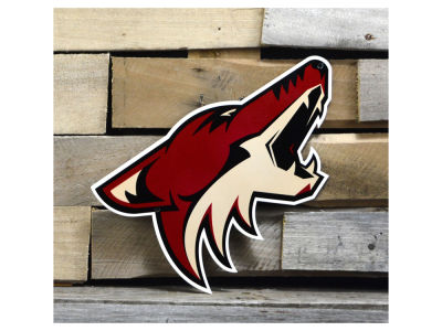 "Phoenix Coyotes Authentic Street Signs 12"" Steel Logo Sign"