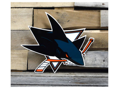 "San Jose Sharks Authentic Street Signs 12"" Steel Logo Sign"