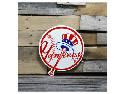 "New York Yankees Authentic Street Signs 12"" Steel Logo Sign"