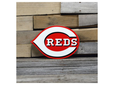 "Cincinnati Reds Authentic Street Signs 12"" Steel Logo Sign"