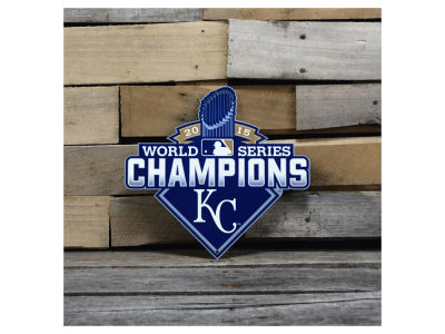 "Kansas City Royals Authentic Street Signs 12"" Steel Logo Sign"