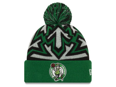 Boston Celtics New Era NBA Glowflake Cuff Knit 72cf9c2211d4