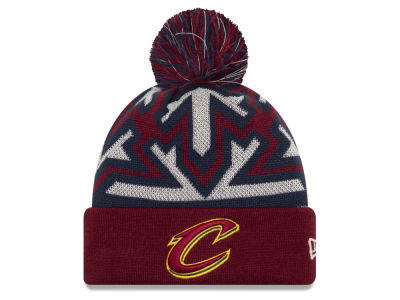 Cleveland Cavaliers New Era NBA Glowflake Cuff Knit