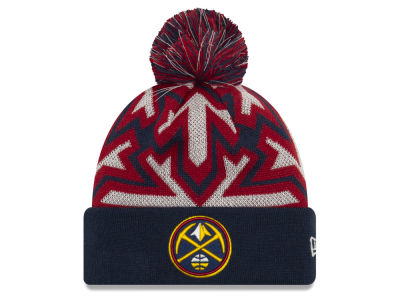 Denver Nuggets New Era NBA Glowflake Cuff Knit