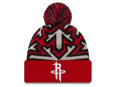 Houston Rockets New Era NBA Glowflake Cuff Knit