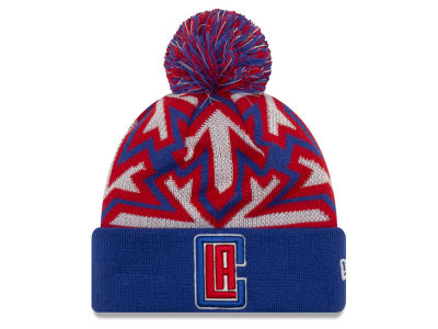 Los Angeles Clippers New Era NBA Glowflake Cuff Knit