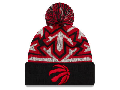 Toronto Raptors New Era NBA Glowflake Cuff Knit