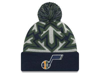 Utah Jazz New Era NBA Glowflake Cuff Knit 00066f3f94a
