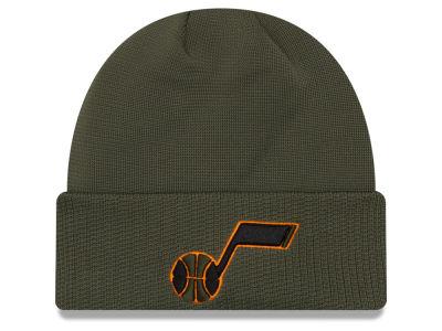 Utah Jazz New Era NBA Tip Pop Cuffed Knit 986ae34486d