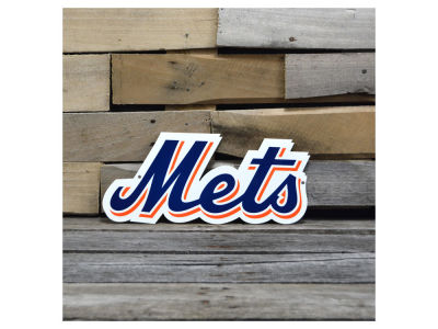 "New York Mets Authentic Street Signs 12"" Steel Logo Sign"