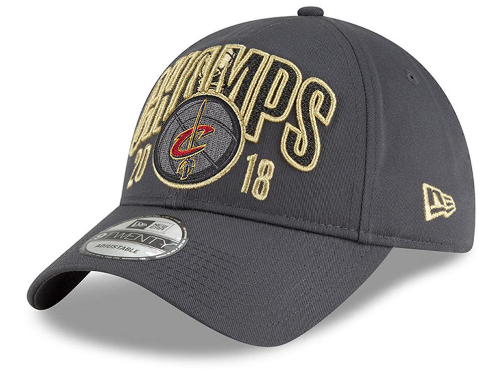 Cleveland Cavaliers New Era 2018 NBA Finals Champ 9TWENTY Cap  e710e4def21