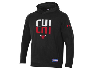 Chicago Bulls Under Armour NBA Men's Authentic City Hoodie