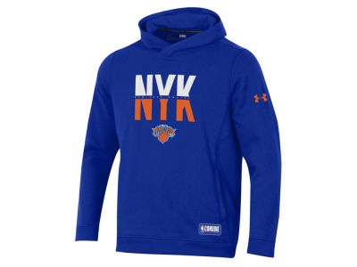 New York Knicks Under Armour NBA Men's Authentic City Hoodie