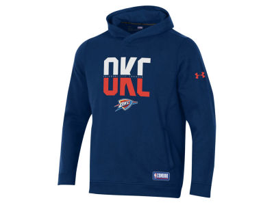 Oklahoma City Thunder Under Armour NBA Men's Authentic City Hoodie