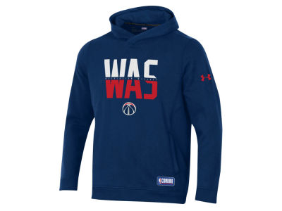 Washington Wizards Under Armour NBA Men's Authentic City Hoodie