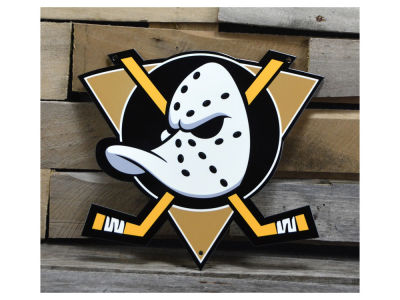"Anaheim Ducks Authentic Street Signs 12"" Steel Logo Sign"