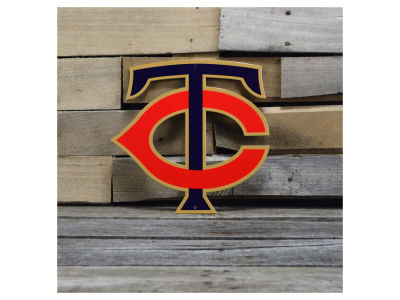"Minnesota Twins Authentic Street Signs 12"" Steel Logo Sign"