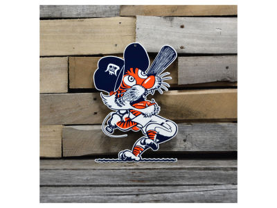 "Detroit Tigers Authentic Street Signs 12"" Steel Logo Sign"