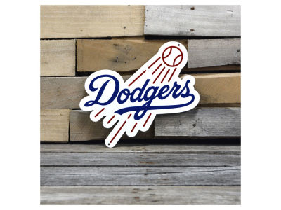 "Los Angeles Dodgers Authentic Street Signs 12"" Steel Logo Sign"